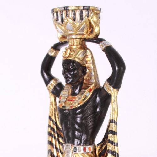 Bougeoir Homme Egypte OTMCG15 nlc déco NLCDECO