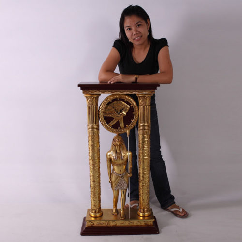 Horloge Horus Egypte CLHOC nlc déco NLCDECO