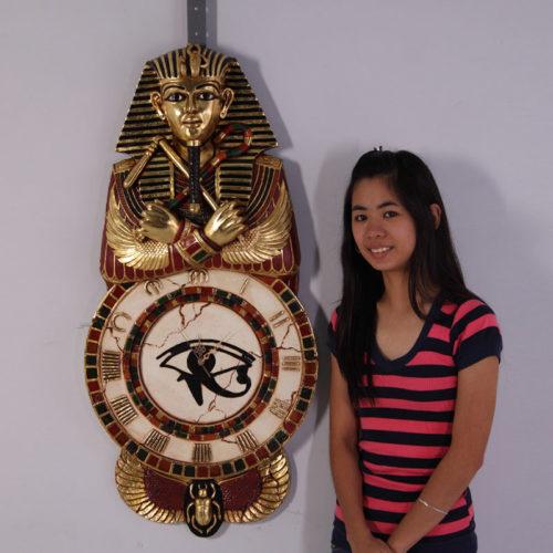 Horloge murale egyptienne Egypte CLEGW nlc déco NLCDECO