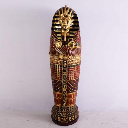 SARCOPHAGE EGYPTE ROI FOSAC nlc déco NLC DECO