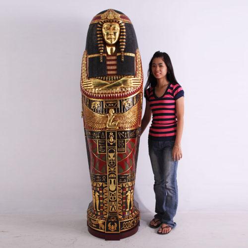 Sarcophage Egypte Reine FOQUS nlc déco NLCDECO