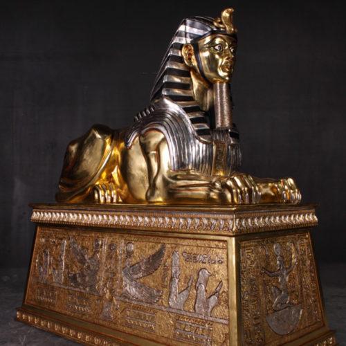 Sphinx sur base XL Egypte OTSPBGS nlc déco NLC DECO