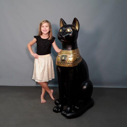 Statuette chat sacré Bastet nlcdeco