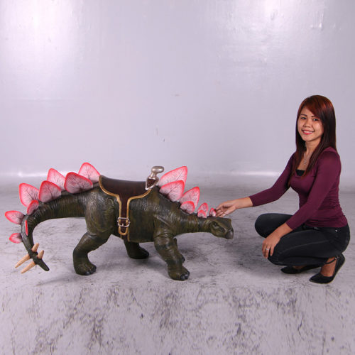 Stegosaurus à chevaucher 150077 nlcdeco nlc deco enfant dinosaures