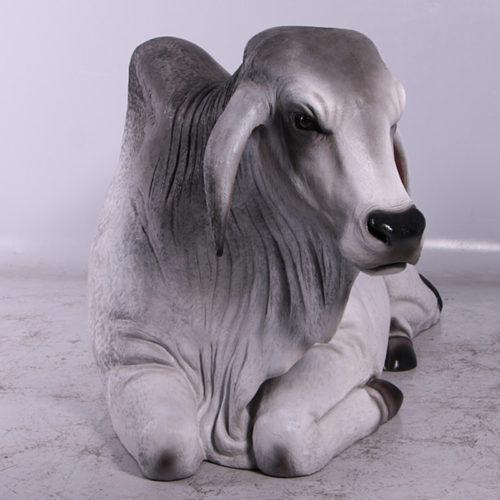 Vache Brahmane banc 150082 nlcdeco nlc deco