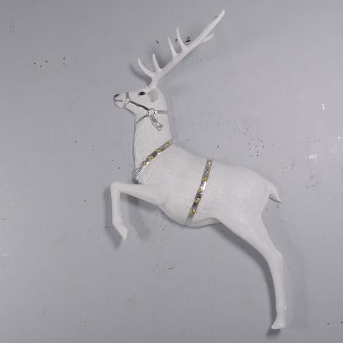 renne blanc décor mural 170017sl nlcdeco nlc deco