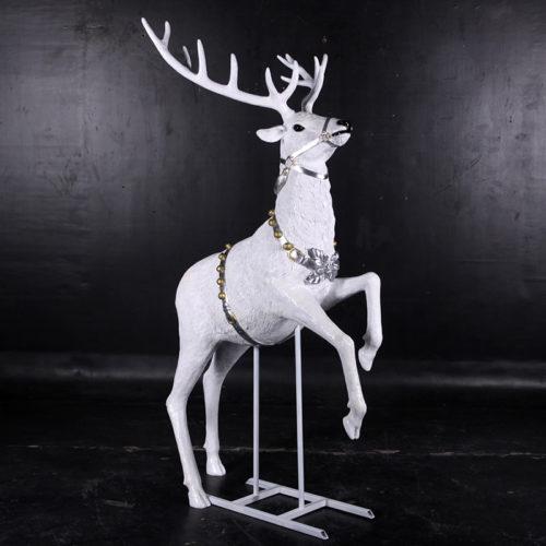 renne blanc qui vole 14002w nlcdeco nlc deco