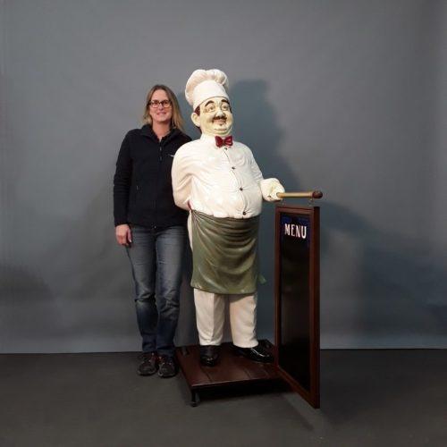 Cuisinier porte menu nlcdeco