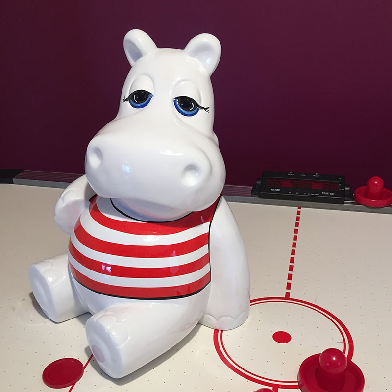 SCWHIPAMmarr HIPPO NLC DECO nlc déco hippopotame mariniere