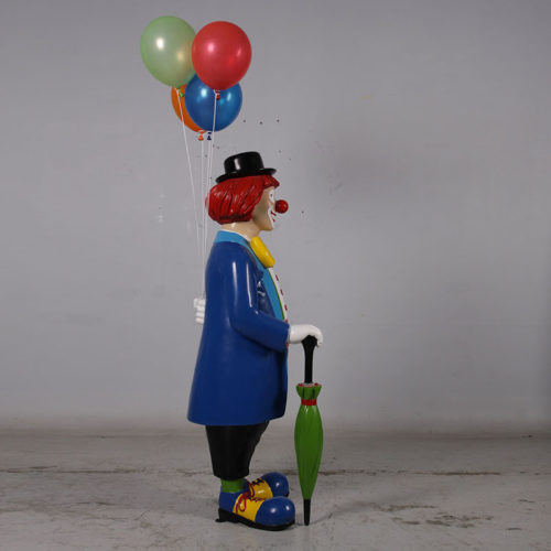 Clown avec ballon 180169 nlcdéco NLCDECO anniversaire fête fete ballon rigolo