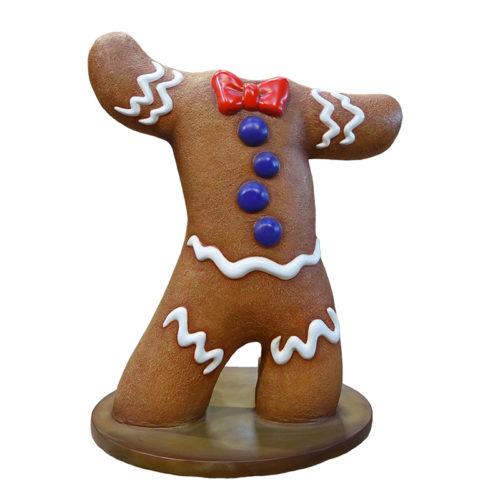 2505-0101-gingerbread-man passe tete pain d'epices nlc deco noel nlc déco