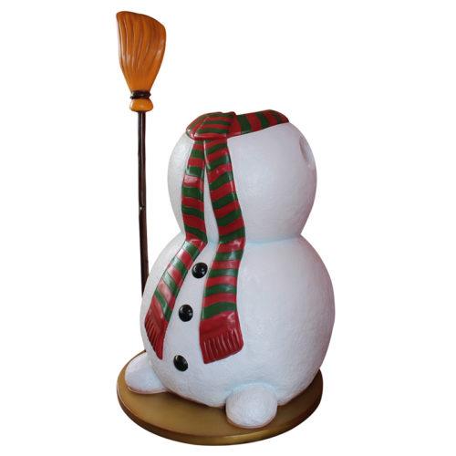2505-0103-snowman-pod passe-tete bonhomme de neige balai nlc déco deco noel