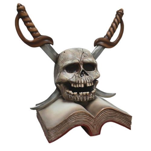 2505-6024-pirate-skull decor pirate crane nlc deco nlc déco resine pirate corsaire