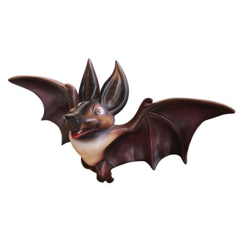 Bat chauve souris resine nlc deco déco halloween animaux
