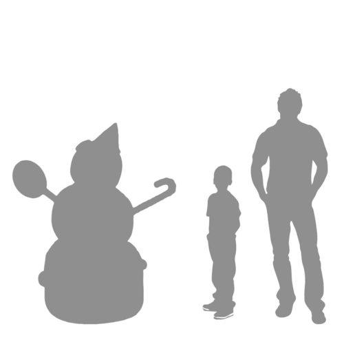 candy-snowman bonhomme de neige bonbons nlc deco nlc déco noel