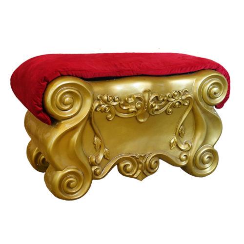 footrest repose pied pour trone de noel nlc deco nlc décoration (2)