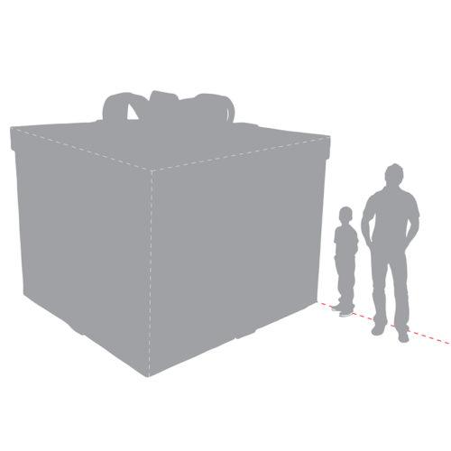 giant-present cadeau de noel geant 2505-0203 nlc déco deco nlc