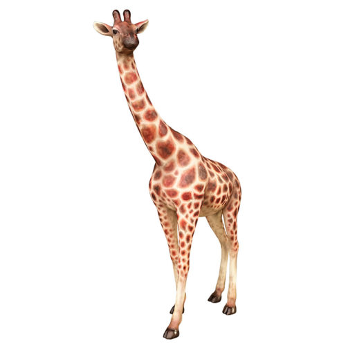 giraffe girafe nlc deco déco safari jungle animaux resine