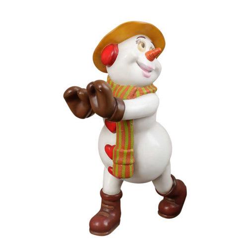 snowman-siblings-1 famille bonhomme de neige noel nlc deco déco soeur noel