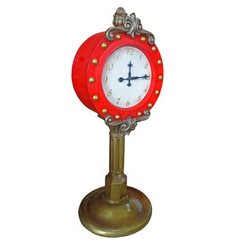 santa-clock horloge de noel nlc deco nlc décoration