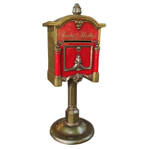 santa mailbox boite a lettre de noel nlc deco nlc décoration