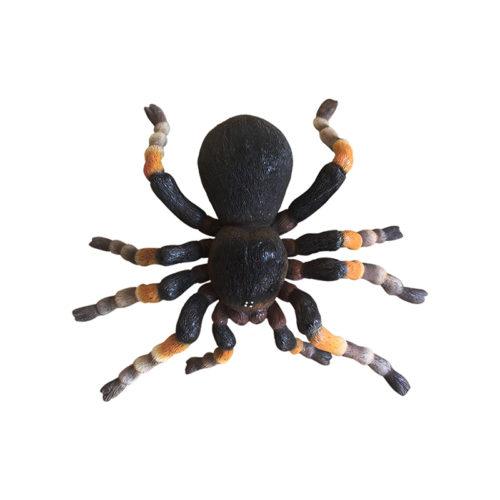 Black-tarantula-1 araignee noire tarentule resine halloween nlc déco deco