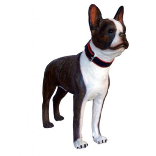 chien boston terrier déco deco resine résine animaux nlcdeco nlc