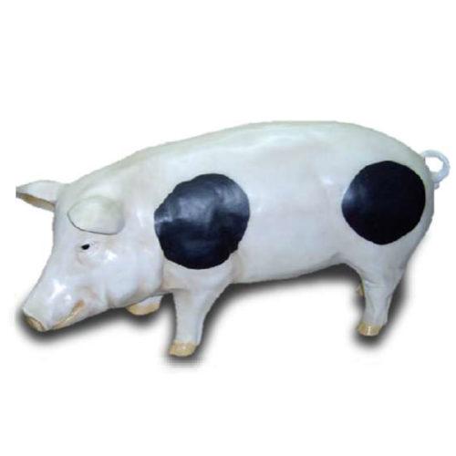 cochon grand modèle blanc nlcdeco resine