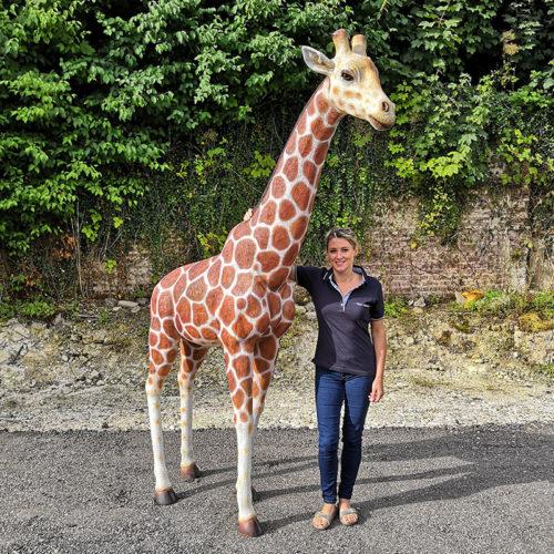 Giraffe-8ft-girafe animaux et décoration en résine nlcdeco.fr résine (2)