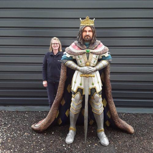 Roi-Arthur-nlcdeco-décoration-figurines-en-résine-chevaliers-de-la-table-ronde-seigneur-breton-taille-réelle-