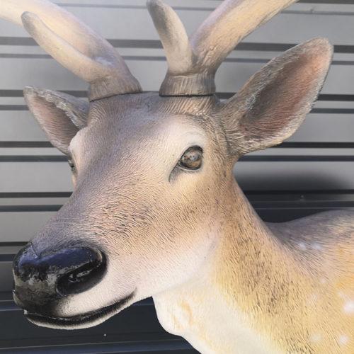 cerf 1900016 nlcdeco animaux de decoration en resine