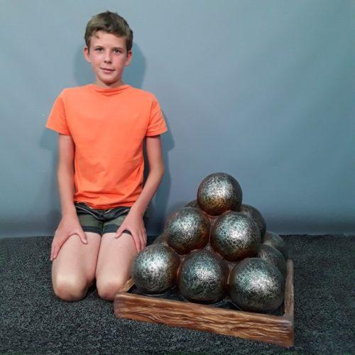 Caisse de boulets de canon nlcdeco