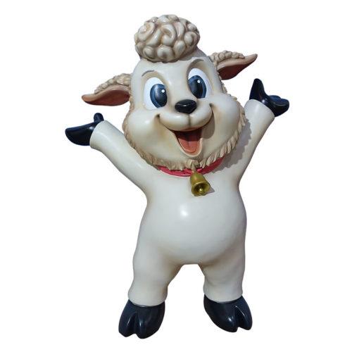 agneau debour marrant nlcdeco decoration et animaux en résine (1)