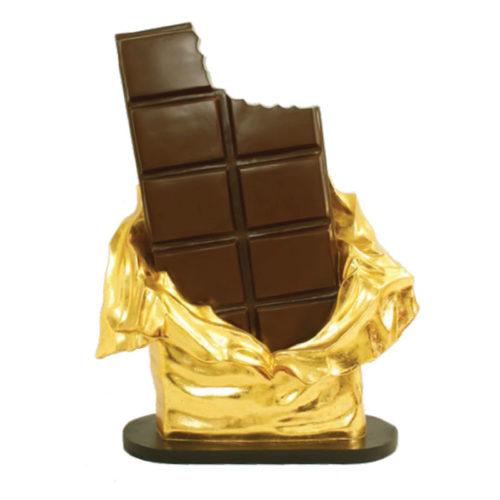 barre de chocolat nlcdeco décoration en résine 1130