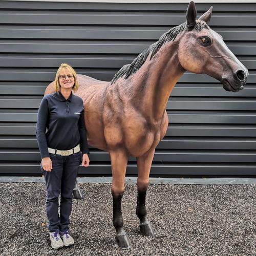 cheval en résine animaux decoration nlcdeco