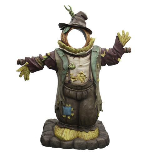 2505-6224 scarecrow photo op 75 x 155 x 185 épouvantail passe-tete nlcdeco halloween