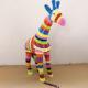 girage petit modele classique rayures nlcdeco animaux en résine