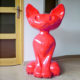 Chat-design-New rouge nlcdeco