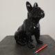 SCH007n petit chien en resine nlcdeco animaux et personnage en résine