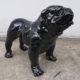 bouledogue noir brillant nlcdeco.fr animaux en resine et personnage