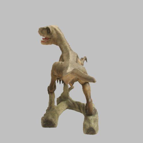 Velociraptor-bouche-ouverte-nlcdeco-décoration-en-résine-dinosaure-vue-dos.jpg