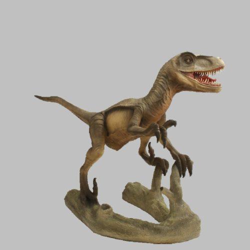 Velociraptor-bouche-ouverte-nlcdeco-décoration-en-résine-dinosaure-vue-profil.jpg
