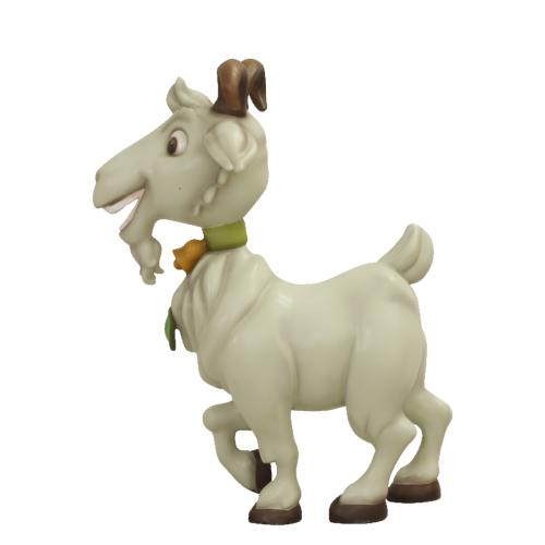Chèvre-comique-nlcdeco-décoration-en-résine-animaux-de-la-ferme-têtu-blanche-monsieur-Seguin-vue-côté.png