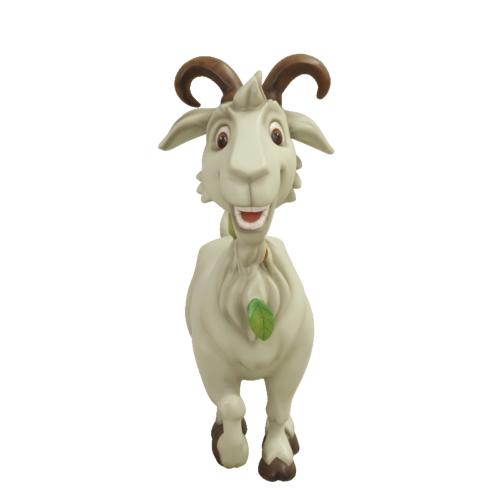 Chèvre-comique-nlcdeco-décoration-en-résine-animaux-de-la-ferme-têtu-blanche-monsieur-Seguin-vue-face.png