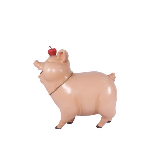 Cochon-comique-nlcdeco-décoration-en-résine-animaux-de-la-ferme-domestique-porc-viande-vue-côté.png