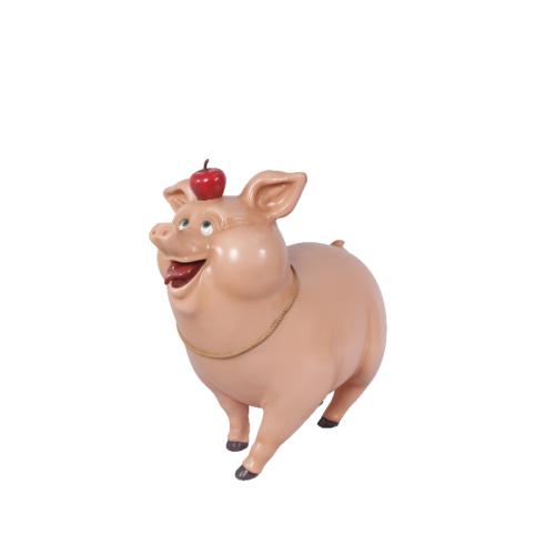 Cochon-comique-nlcdeco-décoration-en-résine-animaux-de-la-ferme-domestique-porc-viande-vue-profil.png