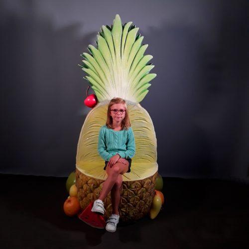 trône ananas nlcdeco