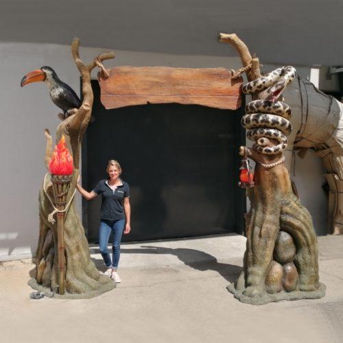 Arche de la jungle parcs d'attractions nlcdeco