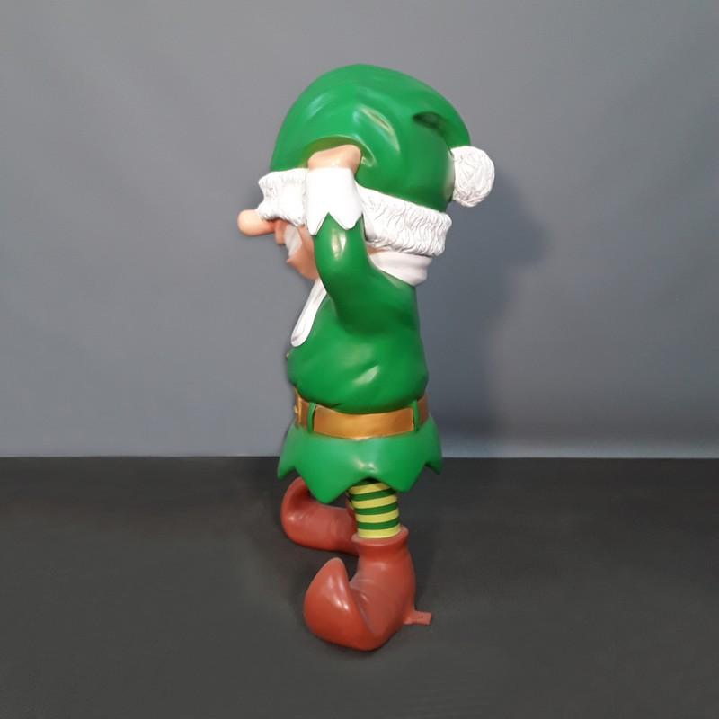 goofy santa claus elf