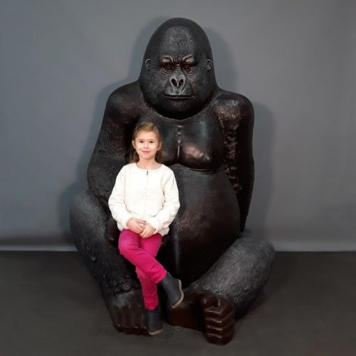 Statue Gorille en résine nlcdeco